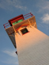 Cape Tryon lighthouse, north shore, PEI