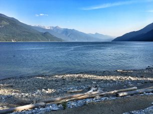 Kootenay Lake, BC, from Davis Creek Provincial Park