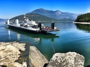 Arrow Lakes ferry